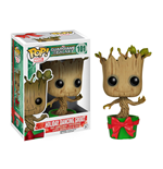 Guardians of the Galaxy POP! Vinyl Bobble-Head Holiday Dancing Groot 10 cm