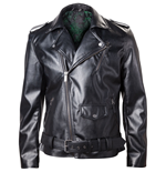 NINTENDO Legend of Zelda Royal Crest Faux Leather Men's Jacket, Large, Black