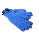 PAYDAY 2 Winter Heist Gloves with Conductive Finger Tips, Blue