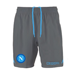 2015-2016 Napoli Kappa Away Shorts (Grey) - Kids