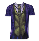 Joker Men's Sublimated Costume Tee Shirt