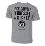 JACK DANIELS Tennessee Whiskey Light Grey T-Shirt