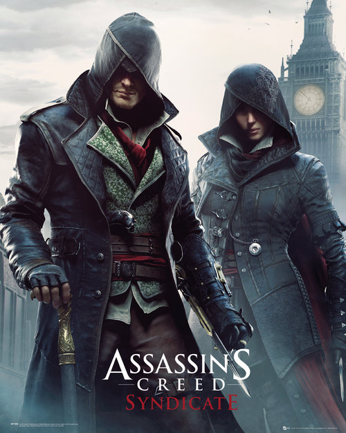 Assassins Creed Syndicate Gang Members Mini Poster