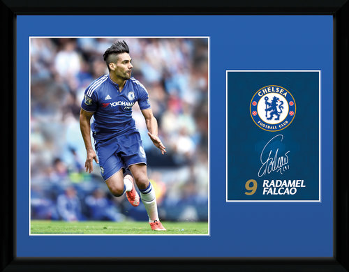 Chelsea Falcao 15/16 Framed Collector Print