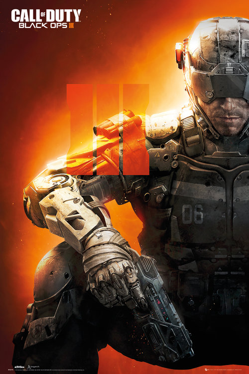 Call of Duty Black Ops 3 III Maxi Poster