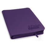 Ultimate Guard 8-Pocket QuadRow ZipFolio XenoSkin Purple