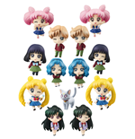 Sailor Moon Petit Chara Pretty Soldier Trading Figure 6 cm More School Life Assortment (6)
