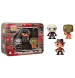 Horror Pocket POP! Tins Figures 3-Pack Jason Voorhees, Freddy Krueger & Sam 4 cm