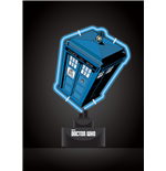Doctor Who Neon Light Tardis 18 x 26 cm