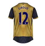 2015-16 Arsenal Away Shirt (Giroud 12) - Kids