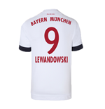 2015-16 Bayern Munich Away Shirt (Lewandowski 9) - Kids