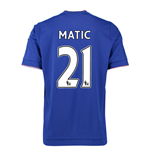 2015-16 Chelsea Home Shirt (Matic 21)
