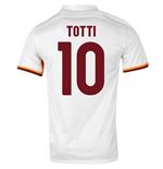 2015-16 Roma Away Shirt (Totti 10) - Kids