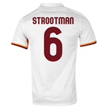 2015-16 Roma Away Shirt (Strootman 6)