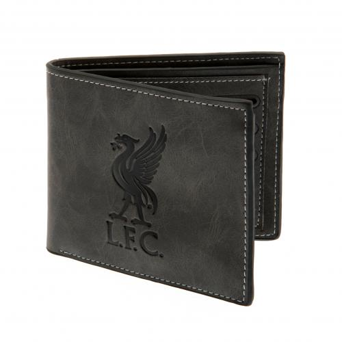 Liverpool F.C. Faux Suede Wallet 818
