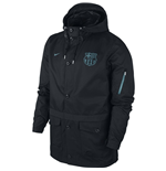2015-2016 Barcelona Nike Saturday 2.0 Authentic Jacket (Black)