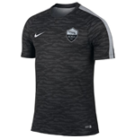 2015-2016 AS Roma Nike Training Shirt (Black)