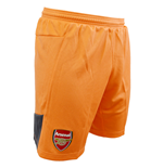 2015-2016 Arsenal Third Goalkeeper Shorts (Nasturtium) - Kids