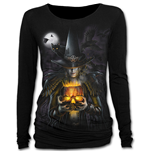 Witching Hour - Baggy Top Black