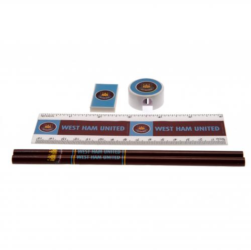 West Ham United Core Stationery Set