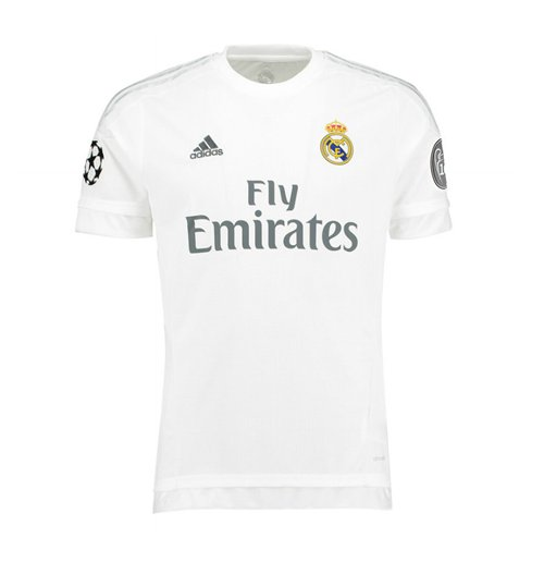 Buy Official 2015-2016 Real Madrid Adidas UCL Home Shirt (Kids) 67ce435fab465