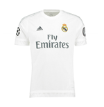 2015-2016 Real Madrid Adidas UCL Home Shirt (Kids)