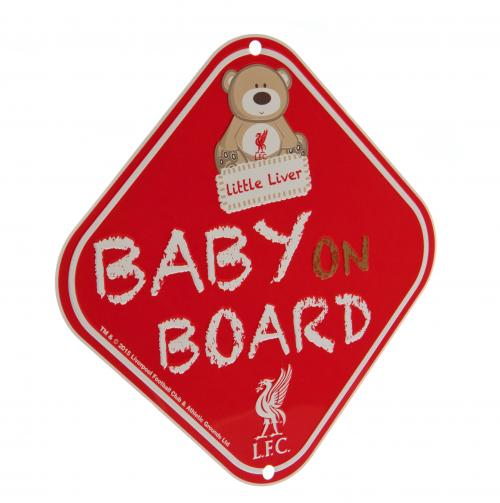 Liverpool F.C. Baby on Board Snuggles