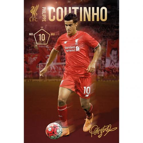 Liverpool F.C. Poster Coutinho 46