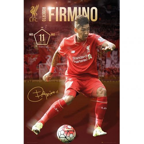 Liverpool F.C. Poster Firmino 42