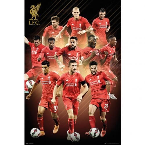 Liverpool F.C. Poster Players 4