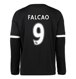 2015-16 Chelsea 3rd Shirt Long Sleeved (Falcao 9)