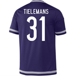 2015-16 Anderlecht Home Shirt (Tielemans 31)