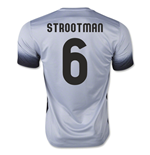 2015-16 Roma 3rd Shirt (Strootman 6) - Kids