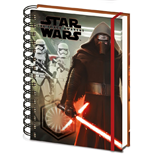Star Wars Episode VII Notebook A5 Kylo Ren & Troopers