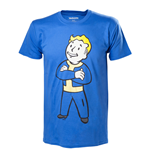 Fallout 4 T-Shirt Vault Boy Crossed Arms