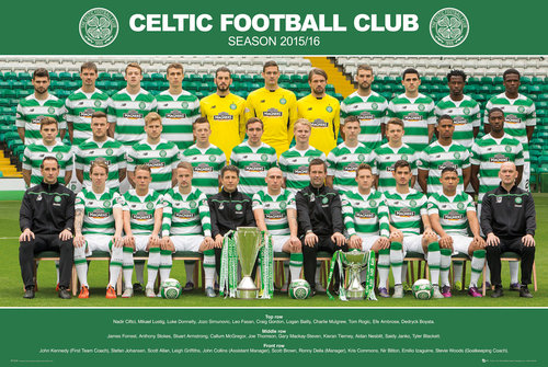 Celtic Team Photo 15/16 Maxi Poster