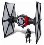 Star Wars Episode VII Class II Deluxe Vehicle with Figure 2015 1st Order Special Forces TIE Fighter