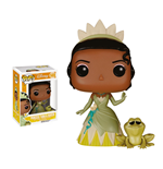 The Princess and the Frog POP! Disney Vinyl Figure Princess Tiana & Naveen 10 cm