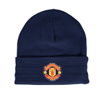 2015-2016 Man Utd Adidas Woolie Hat (Dark Blue)