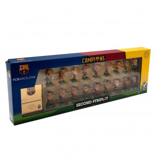F.C. Barcelona SoccerStarz Treble Winners Team Pack