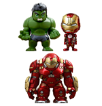 Avengers Age of Ultron Cosbaby (S) Mini Figures Series 1.5 Box Set 14 cm