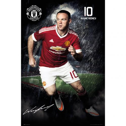 Manchester United F.C. Poster Rooney 57