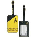 Star Trek Luggage tag Gold Uniform