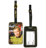 Star Trek Luggage tag Kirk Graphic