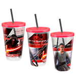 Star Wars Episode VII Drinking Cup Characters