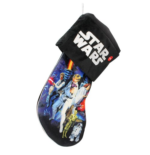 Star Wars Christmas Stocking with Light Rebels 45 cm
