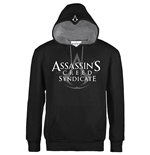 Assassin's Creed Syndicate Hooded Sweater Classic Logo Black