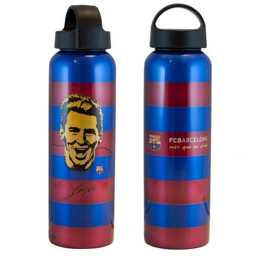 F.C. Barcelona Aluminium Drinks Bottle XL Messi