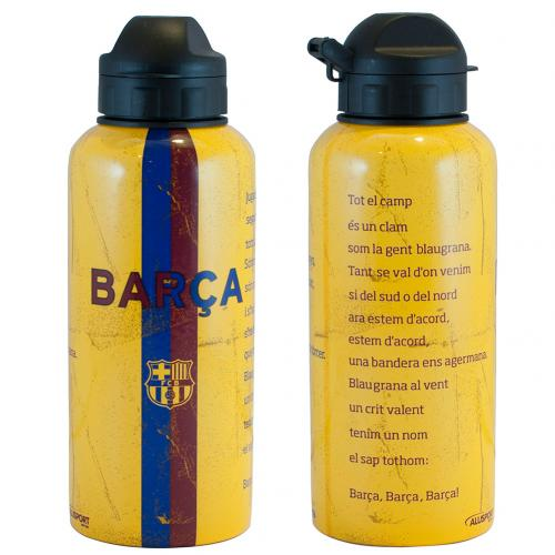 F.C. Barcelona Aluminium Drinks Bottle HM