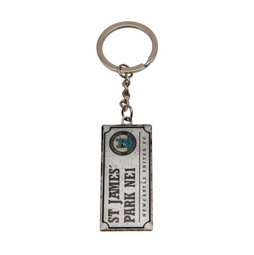 Newcastle United F.C. Keyring Retro